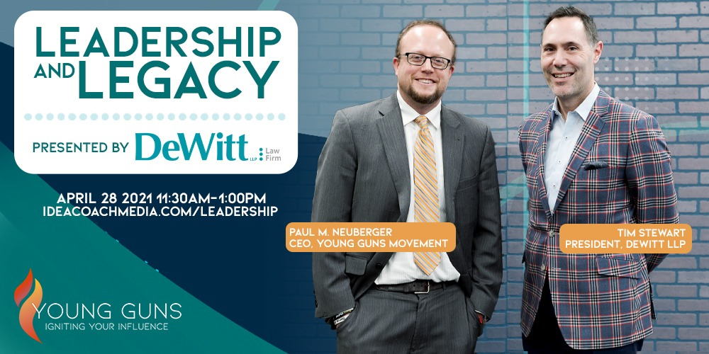 Leadership and Legacy event.
